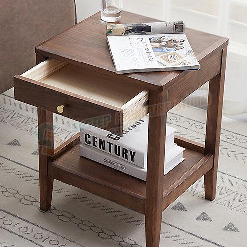 全新進口實木小櫃桶床頭櫃 Brand New solid wood nightstand