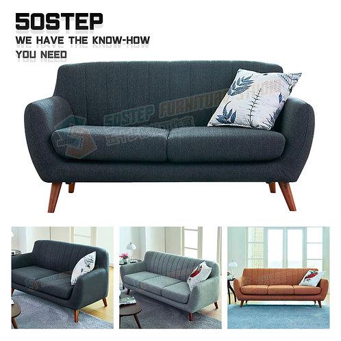 全新簡約造型單兩/三座位梳化 Brand New 2/3 seat sofa, fabric