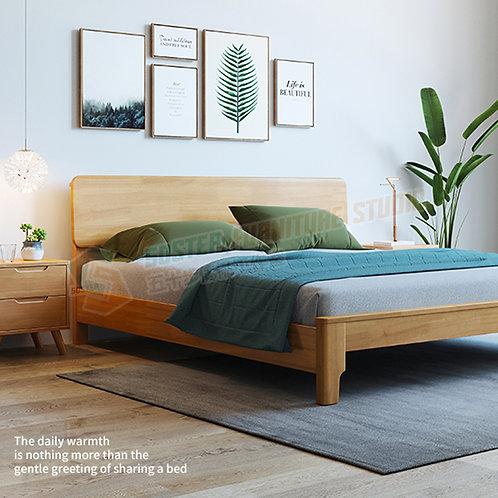 全新極簡主義實木床架 Brand New bed frame, solid wood