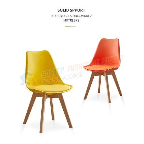 全新實木皮質防水防滑餐椅 Brand New chair