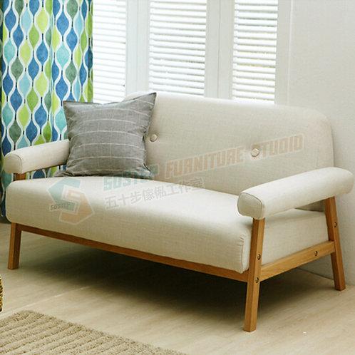 全新日式簡約木梳化 Brand New sofa, fabric
