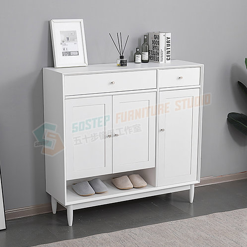 全新進口實木歐式門板鞋櫃 Brand New solid wood shoe cabinet