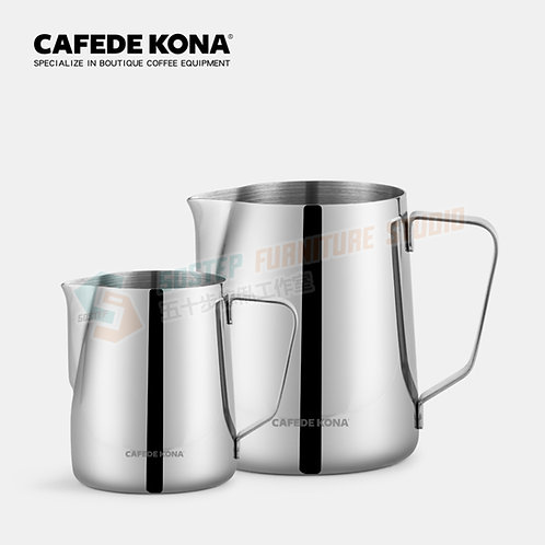全新304鏡面不鏽鋼尖嘴拉花壺 Brand New CAFEDE KONA Stainless steel milk-frothing jug