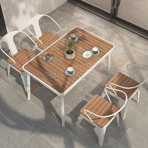 全新無縫焊接長形戶外餐檯/餐檯餐椅組合 Brand New outdoor table/table w chairs