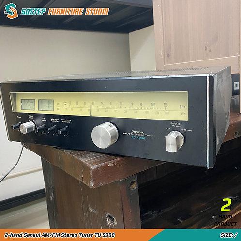 2-hand Sansui AM/FM Stereo Tuner TU 5900