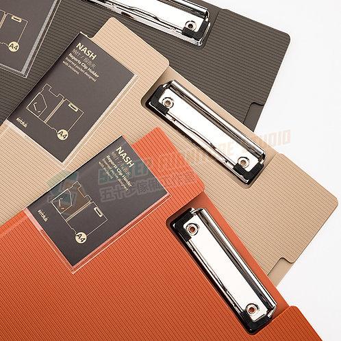 全新復古色A4文件夾板 Brand New A4 size kraft clipboard