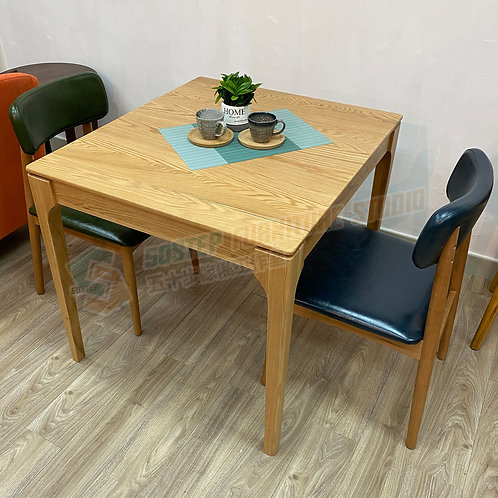 全新特級進口白橡木/櫻桃木實木延伸餐檯 Brand New solid wood extendable table