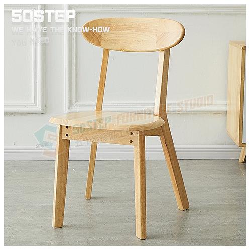 全新泰國實木餐椅(兩張) Brand New solid wood chairs (2pcs)