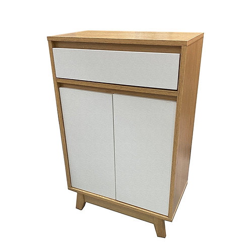 全新實木兩門鞋櫃儲物櫃 Brand New solid wood shoe cabinet/storage