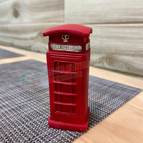 全新電話亭擺設 Brand New decorative object