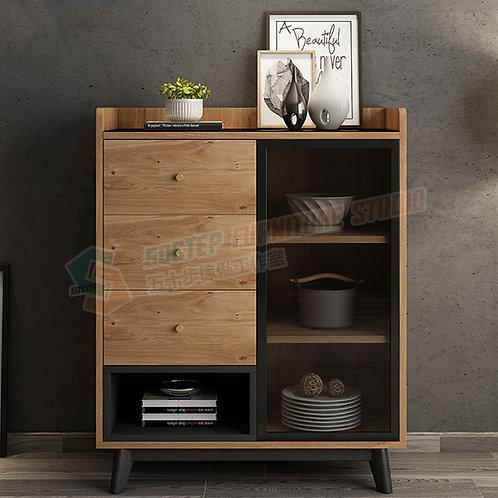 免費送貨摩登精品餐邊櫃 Free shipping modern cabinet with drawers, glass