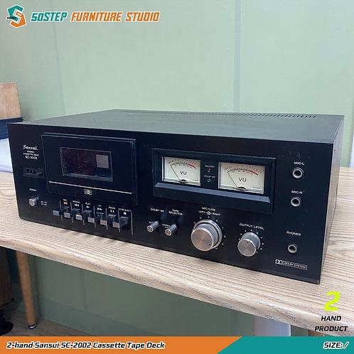 二手山水卡式機 2-hand Sansui SC-2002 Cassette Tape Deck