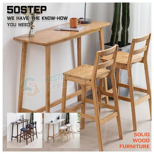 全新日式實木長形吧檯 Brand New solid wood bar table
