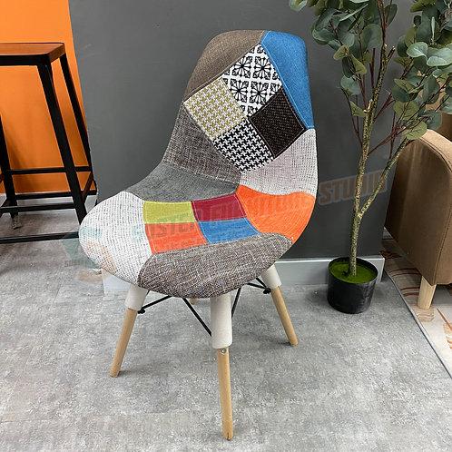 全新設計師傢俱拼布餐椅 Brand New designer chair