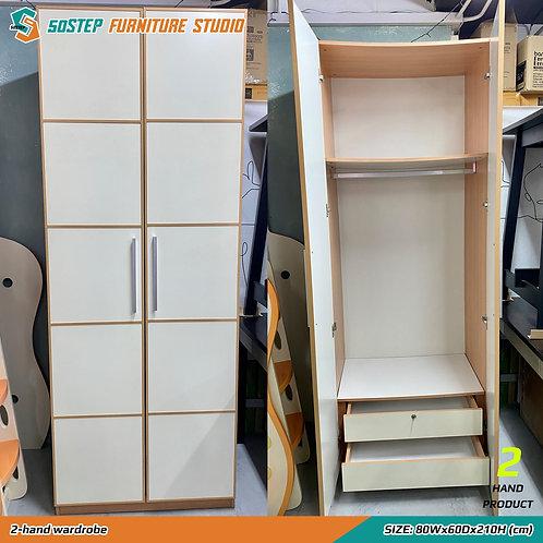 二手兩門衣櫃 2-hand wardrobe