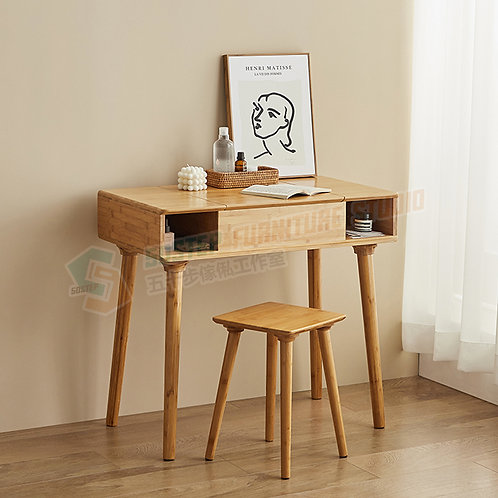 全新日式藏鏡梳妝檯/檯櫈 Brand New dressing desk/w stool, mirror