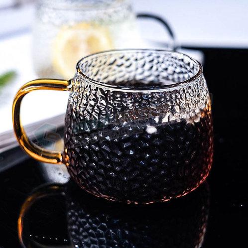 #現貨 日式錘目紋玻璃茶杯 Glass