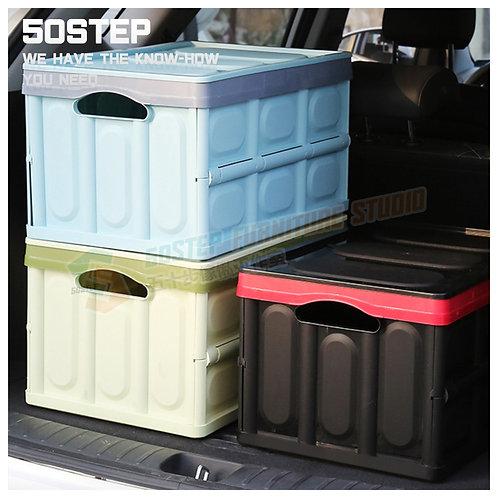 全新摺疊膠箱 Brand New plastic folding storage box