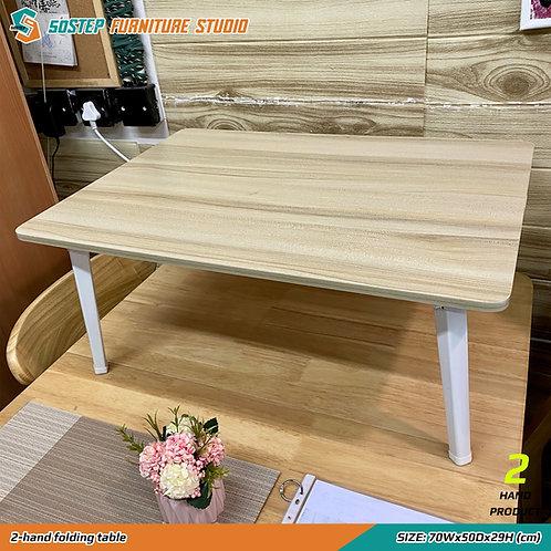 八成新小型摺檯 2-hand folding table