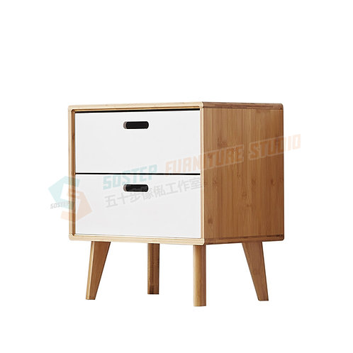 全新日式床頭櫃 Brand New nightstand, bamboo