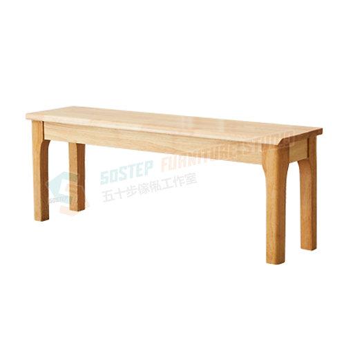 全新泰國實木長櫈餐櫈 Brand New solid wood bench
