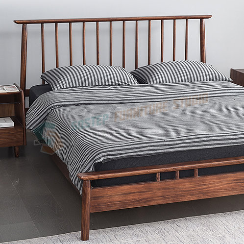 全新日式進口實木床架 Brand New solid wood bed frame