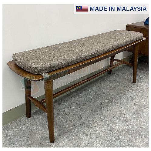 全新馬來西亞製造實木餐櫈/床邊櫈 Brand New solid wood bench, made in Malaysia