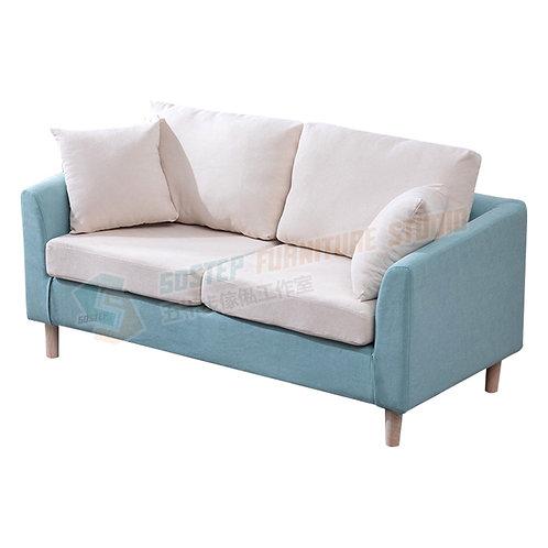 全新纖細型可拆洗單/兩/三座位絨布梳化 Brand New 1/2/3-seat sofa, frabic