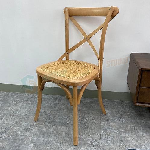 全新進口櫸木實木編織藤餐椅 Brand New solid wood chair