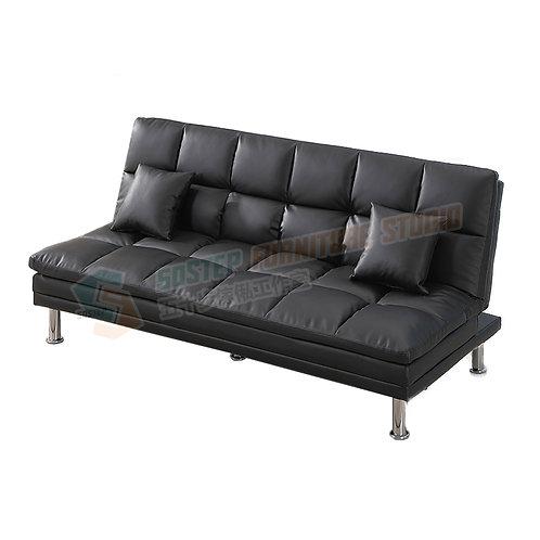全新PU仿真極高皮梳化床 Brand New 3-seat sofa bed, PU leather