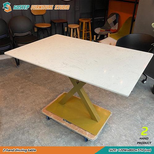 二手石面餐檯 2-hand dinning table