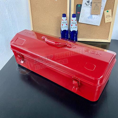 全新懷舊紅色雙層鐵皮大型工具箱 Brand New Tool box 530B, red