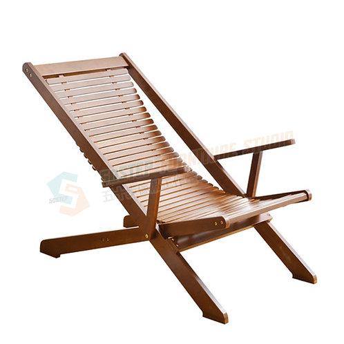 免費送貨楠竹摺疊躺椅 Free shipping lounger, bamboo