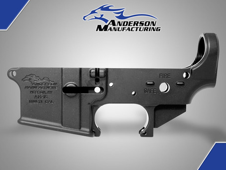 With all that is going on with AR-15 in the news. We have AR15 lowers in stock