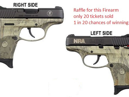 Raffle for new guns