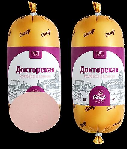 """Колбаса """"Докторская"""" ГОСТ, 450г"""