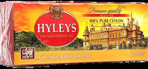 Чай Хэйлис Английский завтрак с/я 1,5г*25п , шт