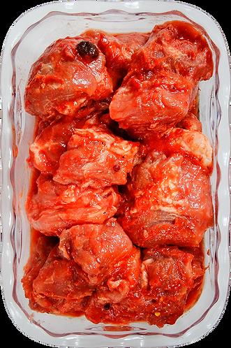 Шашлык свиной в брусничном маринаде (охл), кг