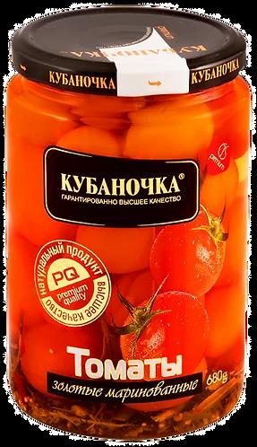 Помидоры Кубаночка золотые марин ГОСТ 680гр  1/8, шт