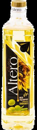 """Масло подсолнечное """"Альтера""""с добавлением оливкового 0,81л, шт"""