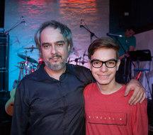Gabriel e Prof Stefan