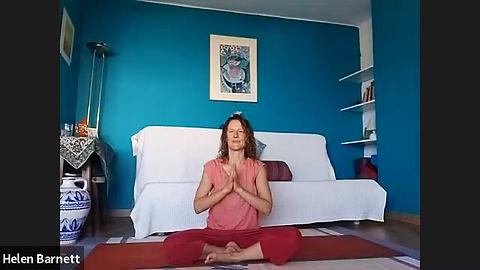 Gentle Restorative Yoga session.
