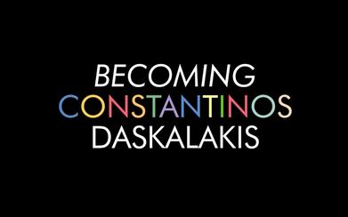Becoming Constantinos Daskalakis by Thanasis Lalas (dir.Maria Giannouli)