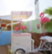ice cream cart hire iyc pop