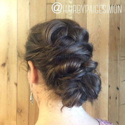 Love doing updos! Here's one from a SimonWilde Braid Bar event last year