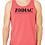Thumbnail: EB250z  Men's Jersey Tank - Red Triblend w/ Zodiac Logo