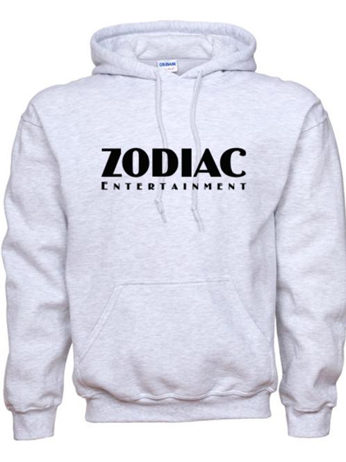 EG342z Hooded Sweatshirt - Ash w/ Zodiac Logo