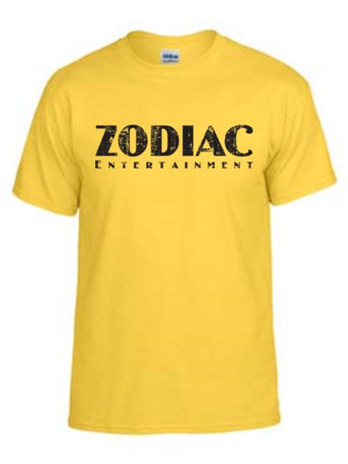 EG110z Yellow - Unisex Tees w/ zodiac logo