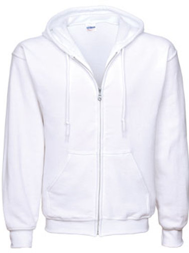 EG343 Men's Full Zip Hoodies-Lights & Heathers