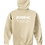 Thumbnail: EG342z Hooded Pullover Sweatshirt -Lights w/ Wht Zodiac Logo